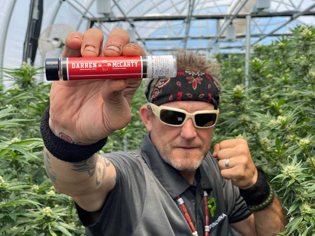 Ex Red Wing Goes Pro Green with Michigan Medical Marijuana Pre-Roll Line