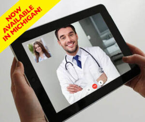 Get approved for medical marijuana in Michigan via telemedicine on your tablet