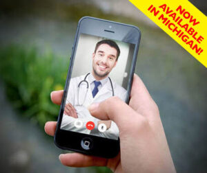Get approved for medical marijuana in Michigan via telemedicine on your smart phone