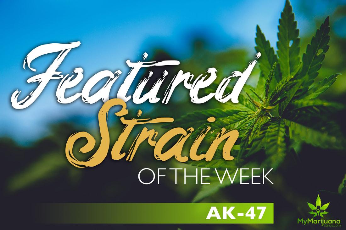 Featured Medical Marijuana Strain of the Week: AK-47