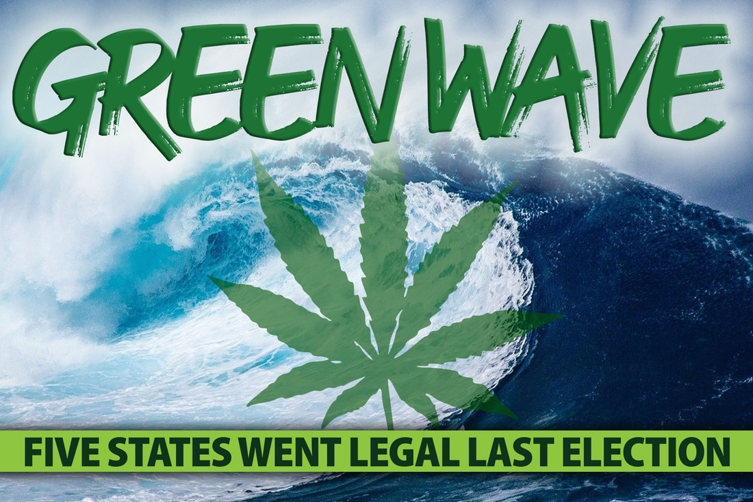 Green Wave: Five States Went Legal Last Election