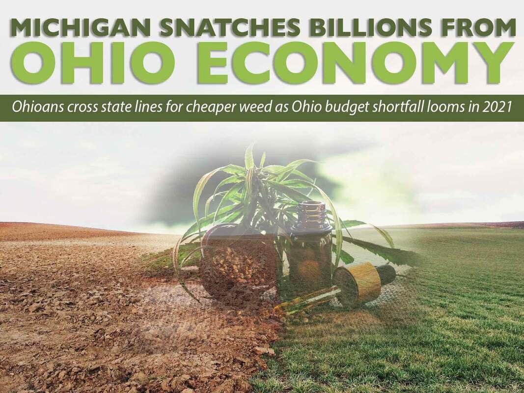 Michigan Snatches Billions From Ohio's Marijuana Economy