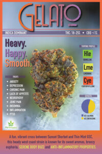 Featured Medical Marijuana Strain of the Week: Gelato
