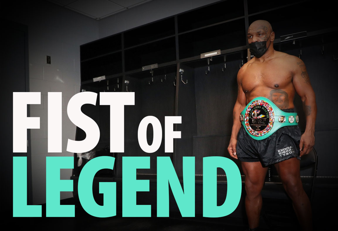 Mike Tyson Fist Of Legend