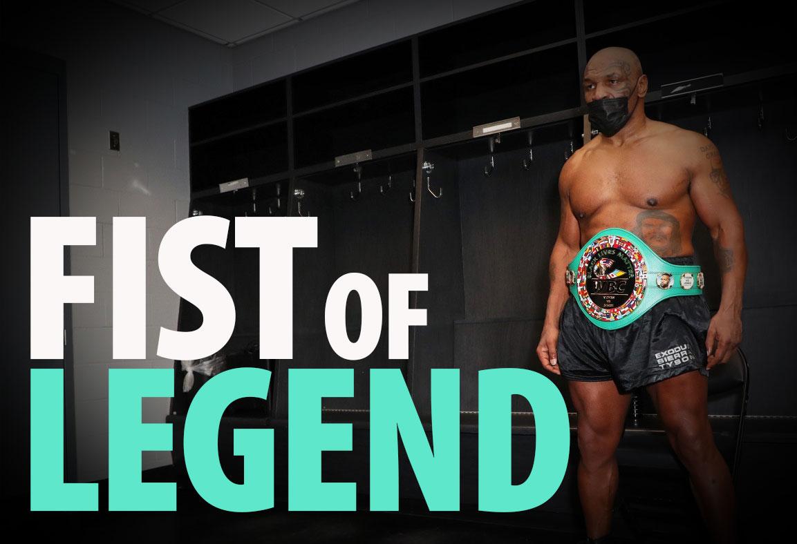 Mike Tyson Fist Of Legend