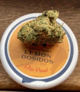 best strains for sleep - Lemon Dosidos