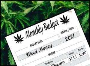 Budgeting Medical Marijuana